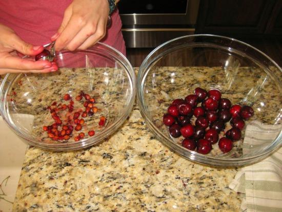 canning cherries