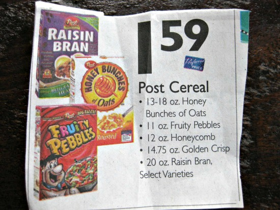 epic post cereal sale