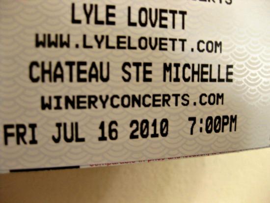 lyle lovett concert tickets