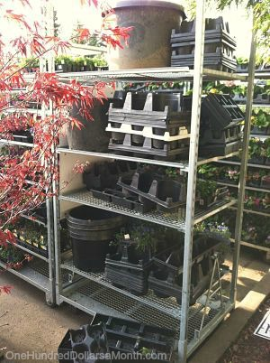 How To Find Free Containers For Your Garden One Hundred Dollars A Month