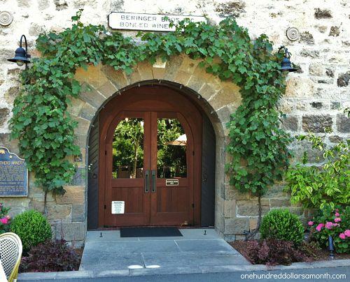 Beringer Wine Tour California