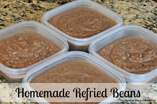Easy Mexican Side Dish Recipes Refried Beans One Hundred Dollars A Month