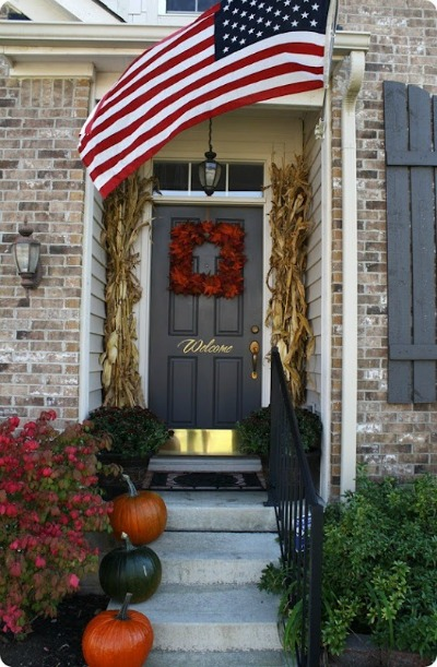front porch decorating ideas for fall one hundred