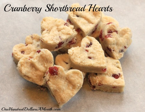 25 Days Of Christmas Cookies Cranberry Shortbread