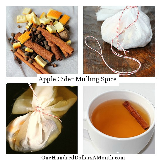 mulling spices apple cider recipe