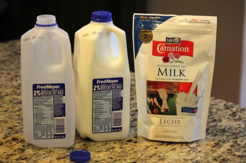 Saving Money with Powered Milk pictures