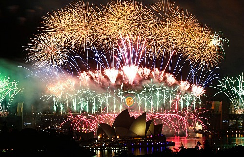 Sydney Australia New Year's Eve - One Hundred Dollars a Month