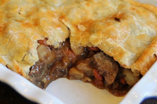 beef pot pie recipe