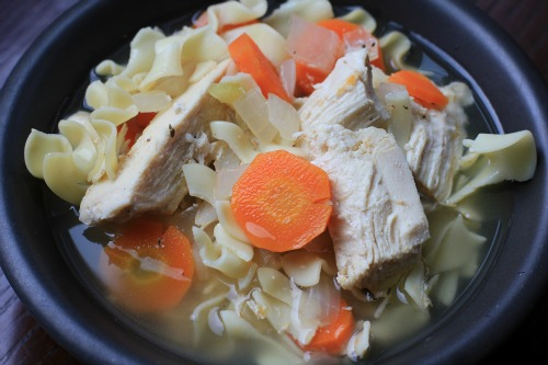 chicken noodle soup crock pot recipes
