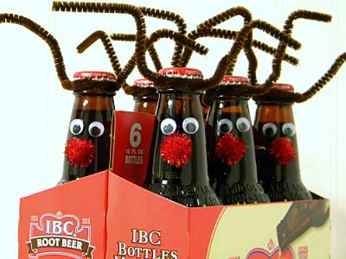 Easy Christmas Craft Ideas For Kids Root Beer Reindeer