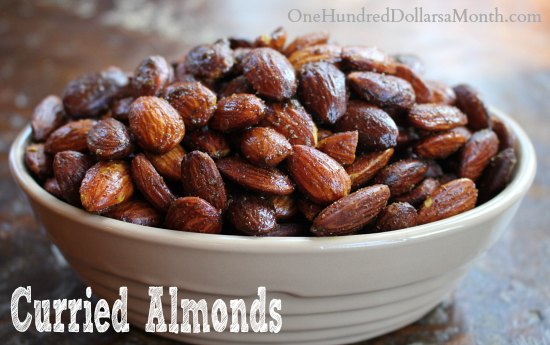 Easy Crock Pot Recipes - Curried Almonds - One Hundred ...