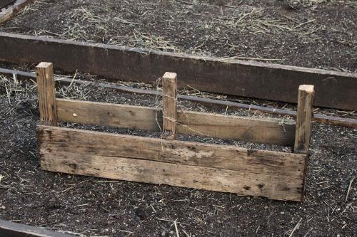 wooden pallet planter
