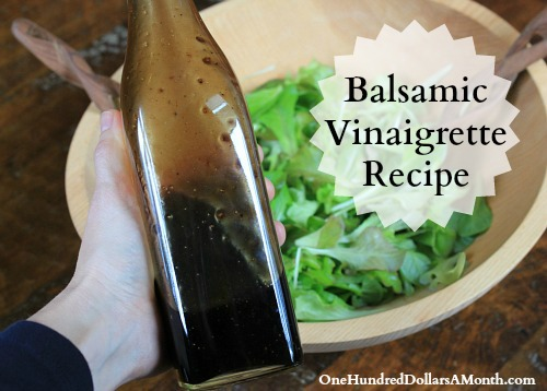 Basic Balsamic Vinaigrette Recipe