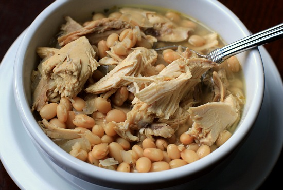 Easy Crock Pot Meals - White Bean Chicken Chili Recipe