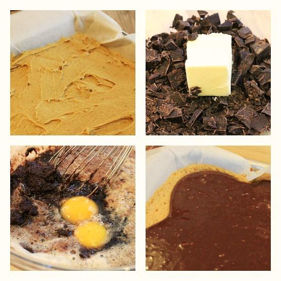 Guinness Black  Tan Brownies recipe