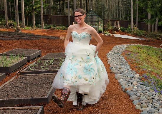 thrift store prom dress mavis