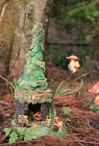 Mare From Woodland Fairy Village Sends Mavis A Fairy House