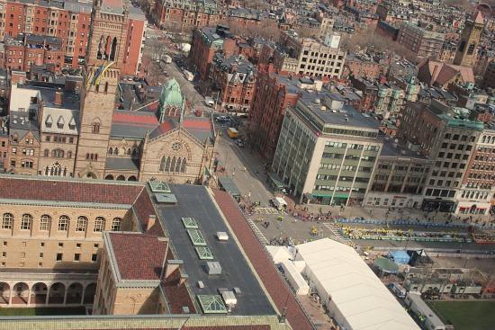 the boston marathon 2013 set up