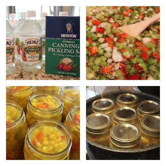 Pickled Corn Relish recipe