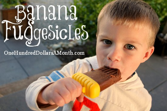 Banana Fudgesicles Recipe