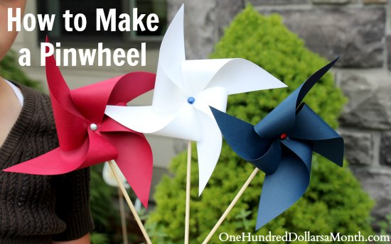 easy crafts for kids how to make a pinwheel one