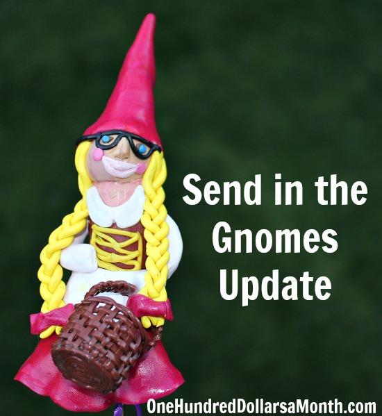 Mavis Butterfield Gnomes St Jude Fundraiser