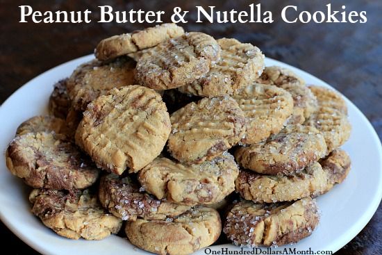 Peanut-Butter-and-Nutella-Cookies