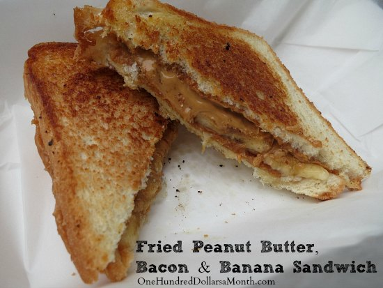 Recipe Elvis Presley S Fried Peanut Butter Bacon And Banana Sandwich One Hundred Dollars A Month