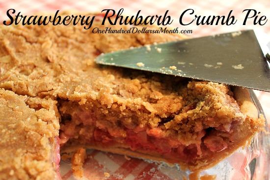 Strawberry-Rhubarb-Crumb-Pie