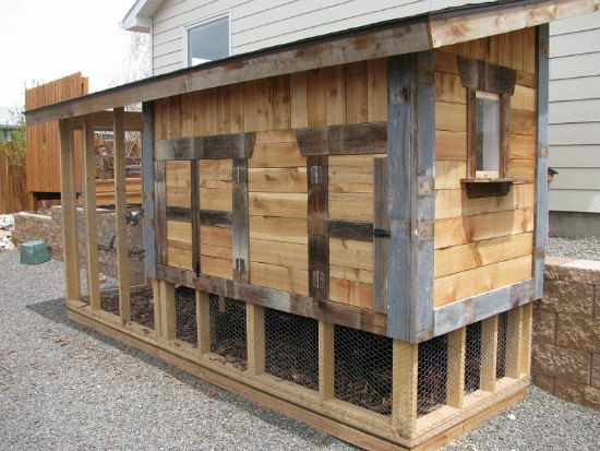 Mavis Mail Gorgeous Chicken Coop From Laramie Wyoming