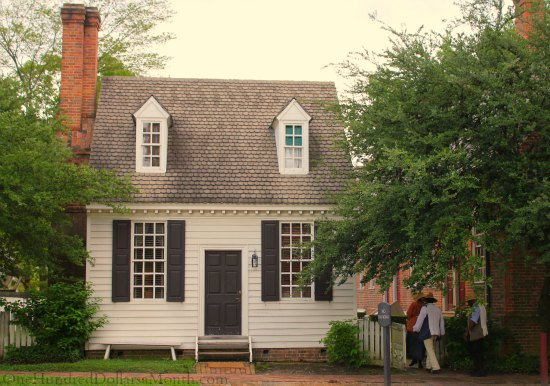 Homes of colonial williamsburg va one hundred dollars a Colonial home builders