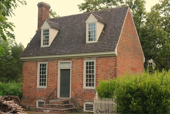 Homes Of Colonial Williamsburg Va on saltbox shed