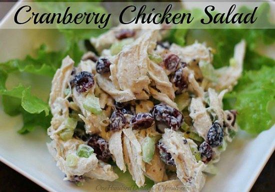 easy-chicken-recipes-Cranberry-Chicken-Salad (1)