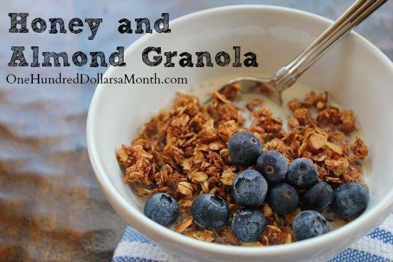 Honey and Almond Granola Recipe