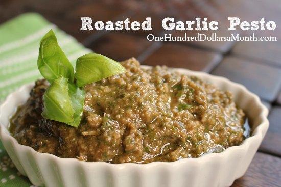 Roasted Garlic Pesto Recipe