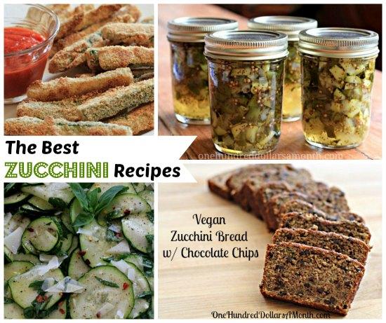 The Best Zucchini Recipes