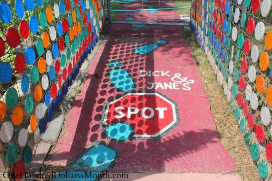 dick and jane's spot walkway