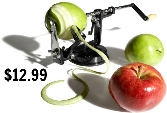 apploe peeler corer slicer