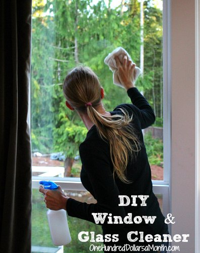 DIY Window and Glass Cleaner
