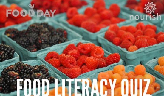 food literacy quiz