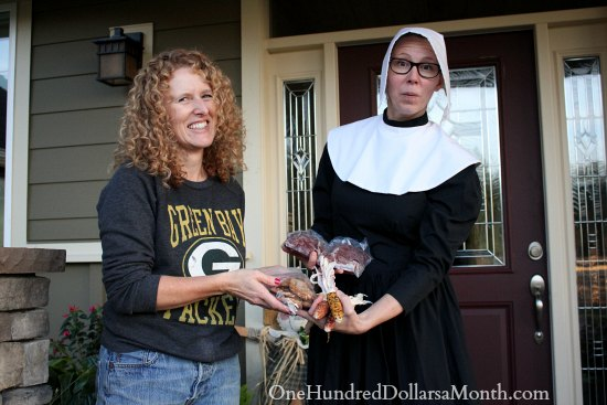 Thanksgiving pilgrim bartering mavis