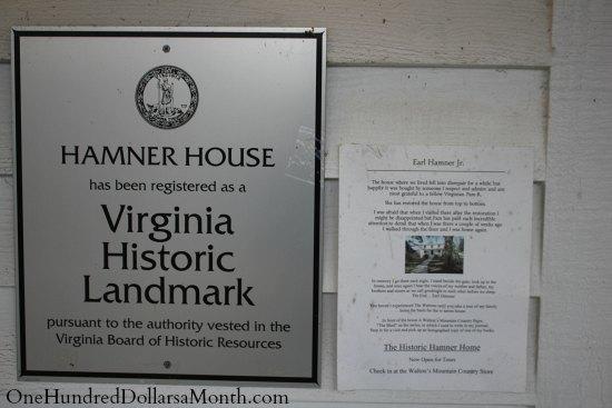 Walton Mountain Museum Earl Hamner Jr. House