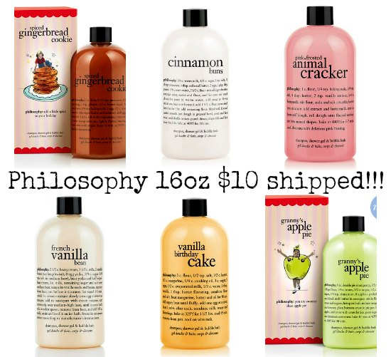philosophy gels 16 ounce