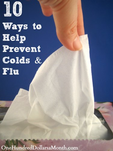 10 Ways to Help Prevent Colds and Flu