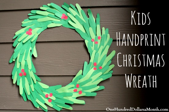 Easy Christmas Crafts For Kids Handprint Christmas