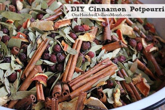 Make Your Own Cinnamon Potpourri