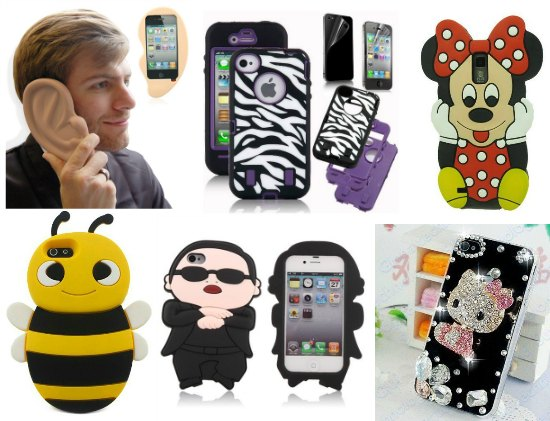 fun cool iPhone case protectors
