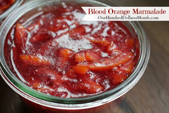 Blood Orange Marmalade recipe