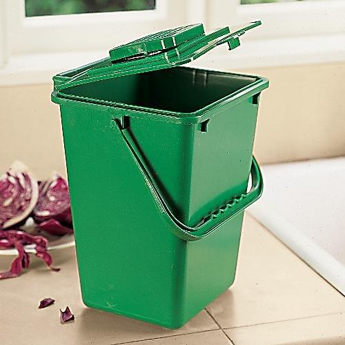 Exaco Trading ECO-2000 2.4 Gallon Kitchen Compost Waste Collector