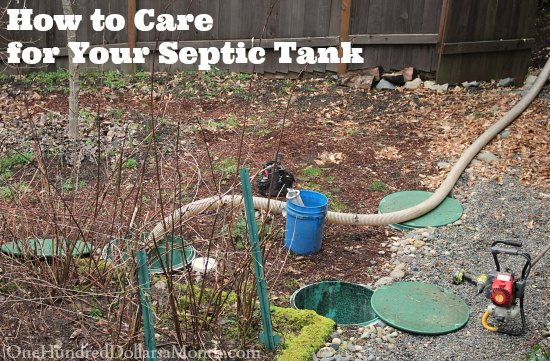 How to Care for Your Septic Tank